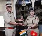Shri R.K. Mishra taking over as the Director General (DG), Sashastra Seema Bal (SSB) from Smt. Archana Ramasundaram, in New Delhi on September 30, 2017.