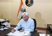 IAS Officer Sunil Arora taking charge as the Election Commissioner of India, in New Delhi on September 01, 2017.